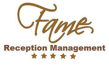 Fame Reception Home page logo